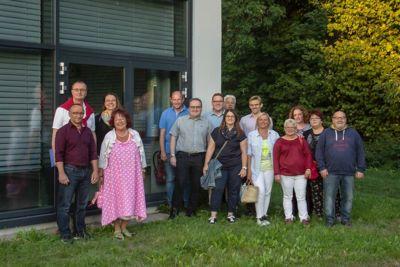 SPD Selb Parkplatzinfotreff am Hallenbad